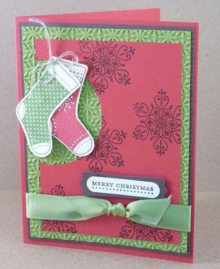 B-day stocking card