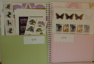 Postage book pages 10-11