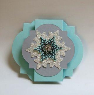 Snowflake Fancy Fold