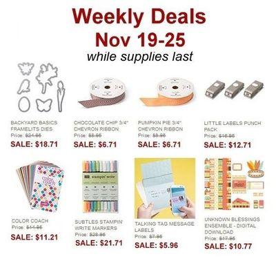 Nov19 Deals