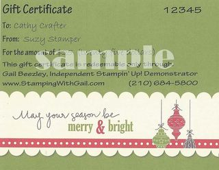 Gift Certificate Sample2