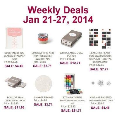 Weekly Deals 0121