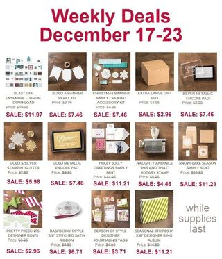 Weekly Deals - Dec 17