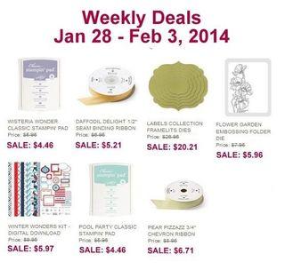 Weekly Deals 0128